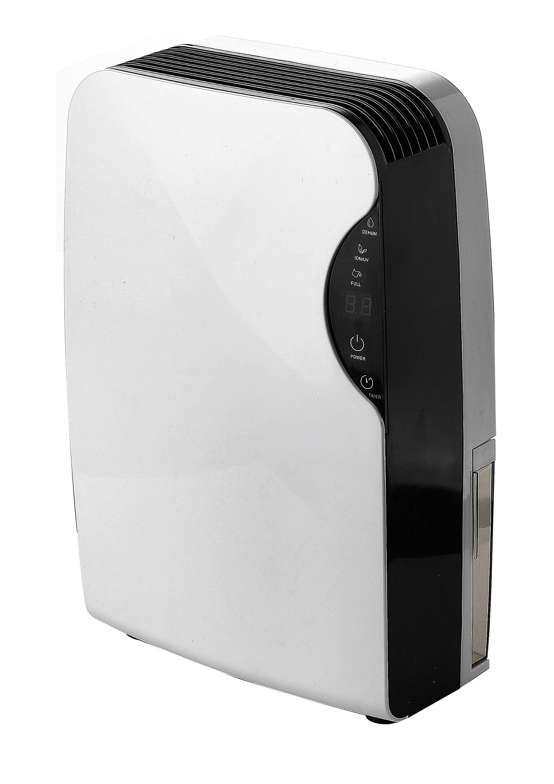 Eurgeen Small Semiconductor Dehumidifier Touch-Screen Air Dryer Whisper-Quiet Air Purification - Ideal for Small Rooms and Spaces,Kitchen,Bathroom,Bedroom,Garage,RV