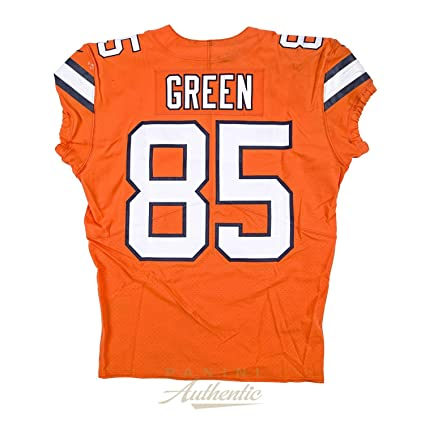 new product 896d1 e8fa6 Virgil Green Game Worn Denver Broncos Jersey & Pant Set From ...