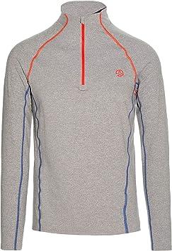 Ternua Camiseta Mode 1/2 Zip LS M Hombre, White Melange, XL: Amazon.es: Ropa y accesorios