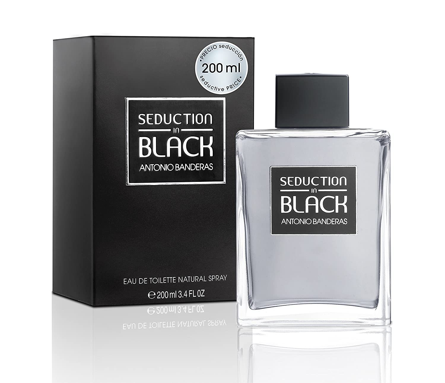 Antonio Banderas Seduction In Black - Black Ab - 200 ml: Amazon.es: Belleza