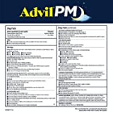 Advil PM (200 Count) Pain Reliever/Nighttime