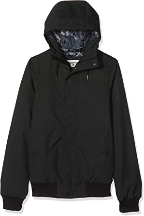 Hombre BILLABONG Bus Stop Jacket Chaqueta Deportiva Tama/ño del Fabricante: XXL Black 19 Negro One Size