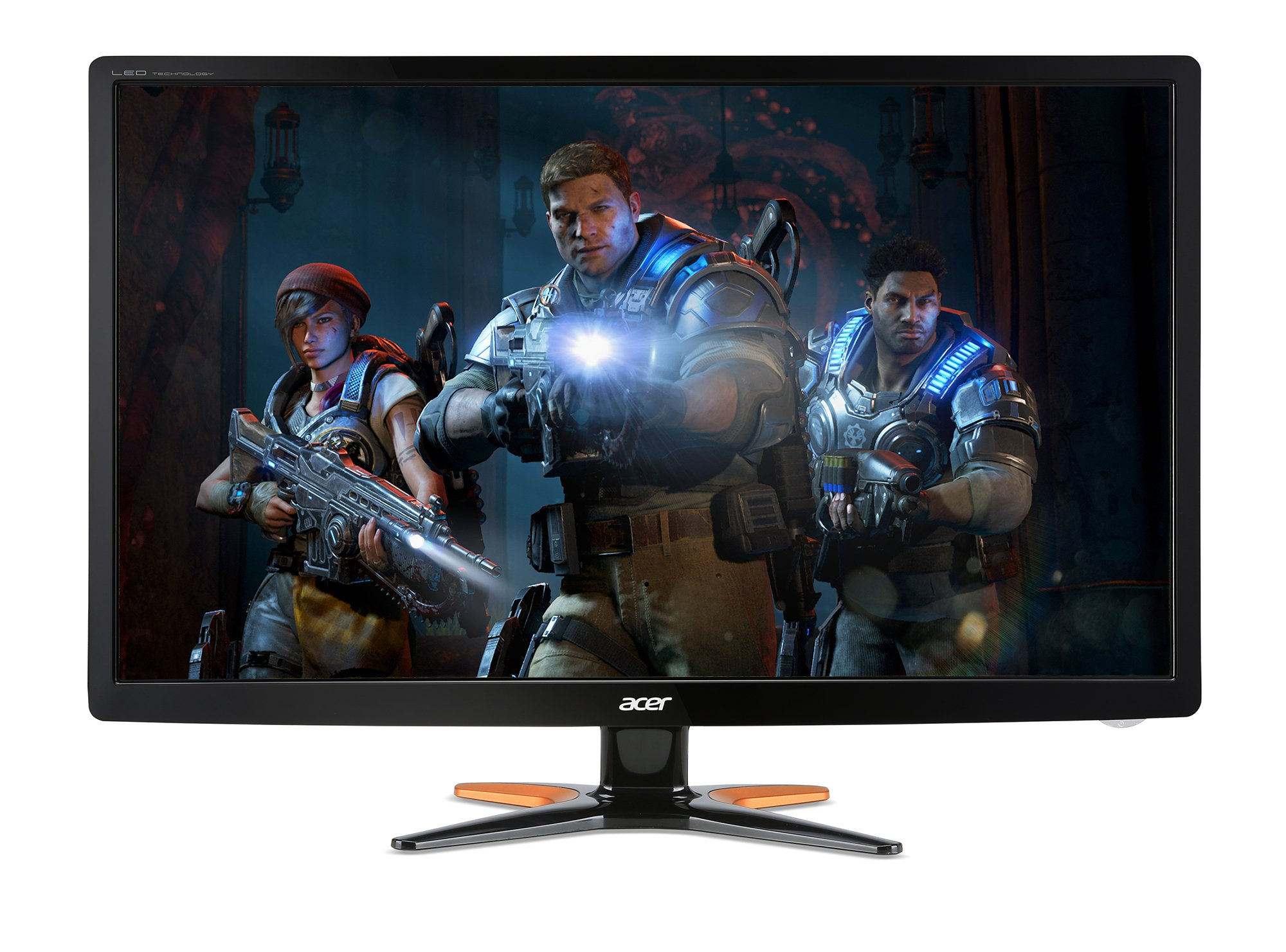"""Acer Gaming 3D Monitor 27"""" GN276HL bid 1920 x 1080 144Hz Refresh Rate 1ms Response Time (VGA, DVI & HDMI Ports) by Acer (Image #1)"""