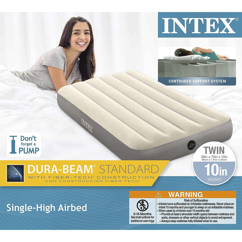 Intex Dura-Beam Standard Series Cama Hinchable de una Sola ...