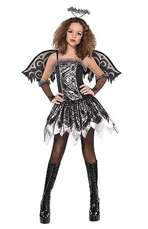 Christys - Disfraz de ángel caído para adolescente (12-14 años)