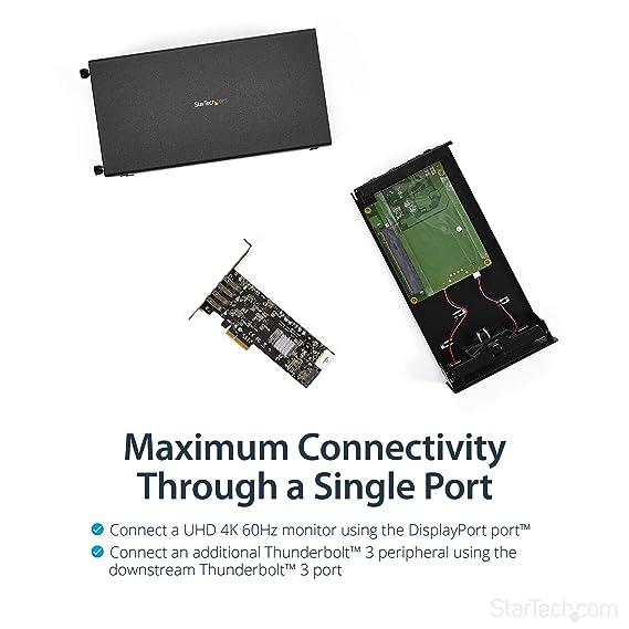 Caja Thunderbolt 3 PCI-E X16: Startech: Amazon.es: Informática
