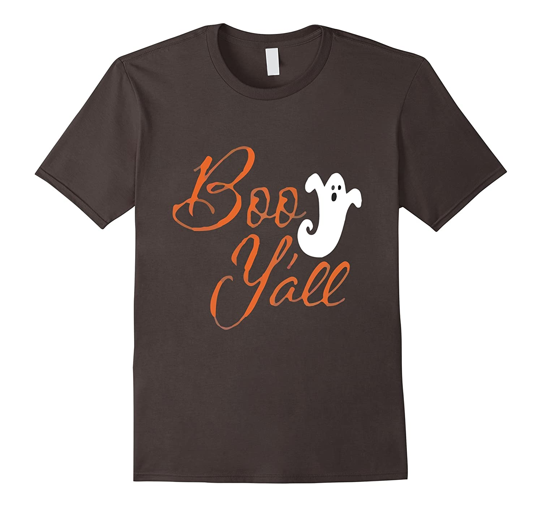 Boo Y'All Ghost Funny Halloween T-Shirt-FL