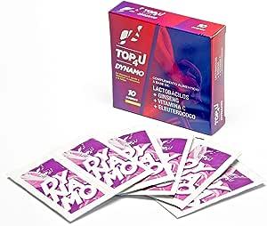 TOP4U DYNAMO. Probiótico para deportistas con función energizante. 10 sobres sabor lima.: Amazon.es: Salud y cuidado personal