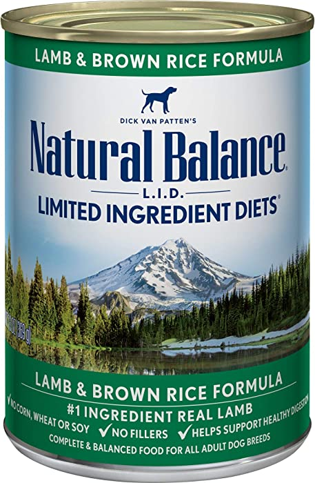 Top 9 Natural Balance Canned Dog Food Lamb