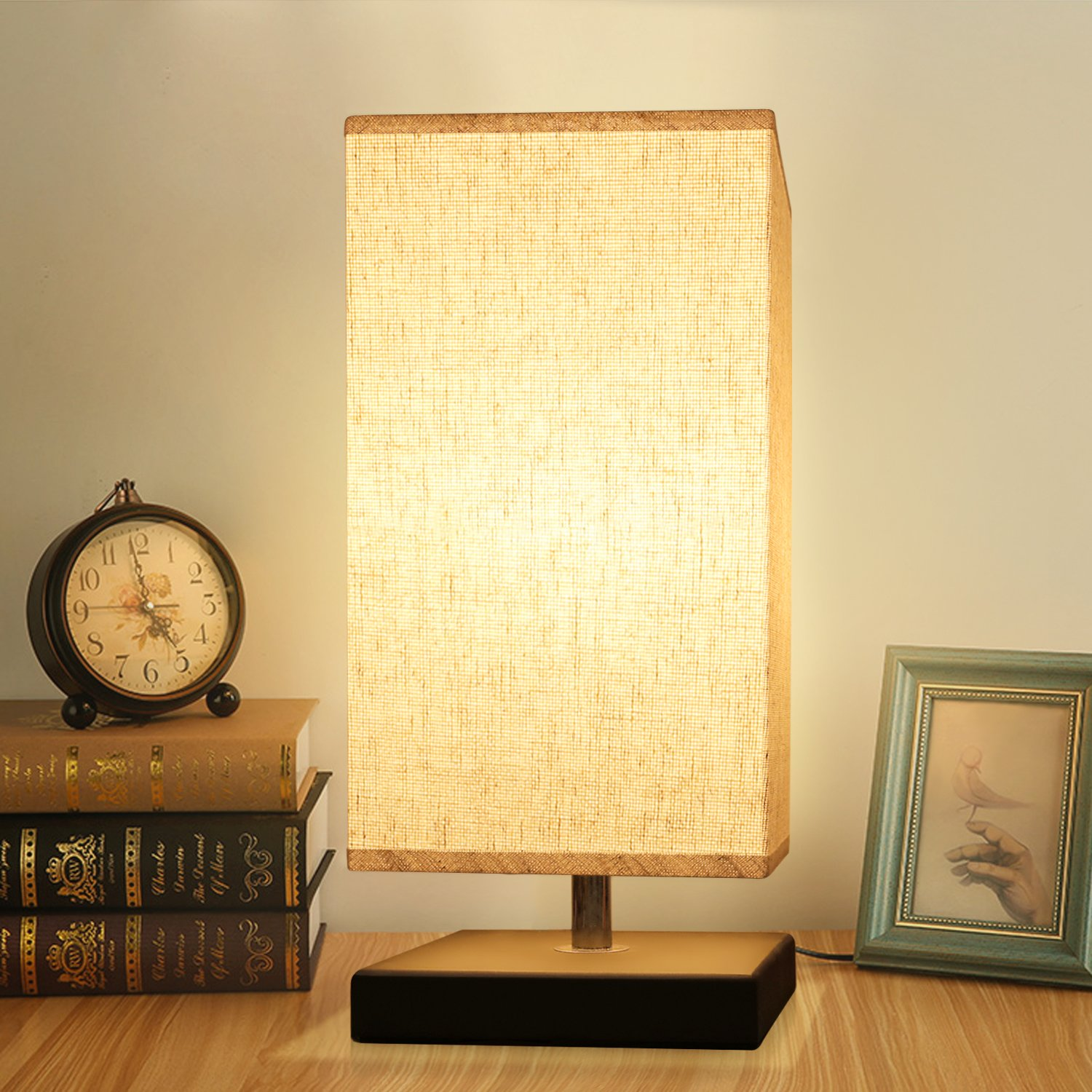 Bedside Lamp Table Desk Lamp,Acaxin Bed Lamps for Nightstand Bedroom Living Room