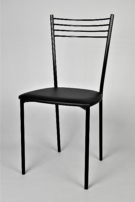 Set 4 sedie per cucina, sala da pranzo, eleganti e moderne, con ...