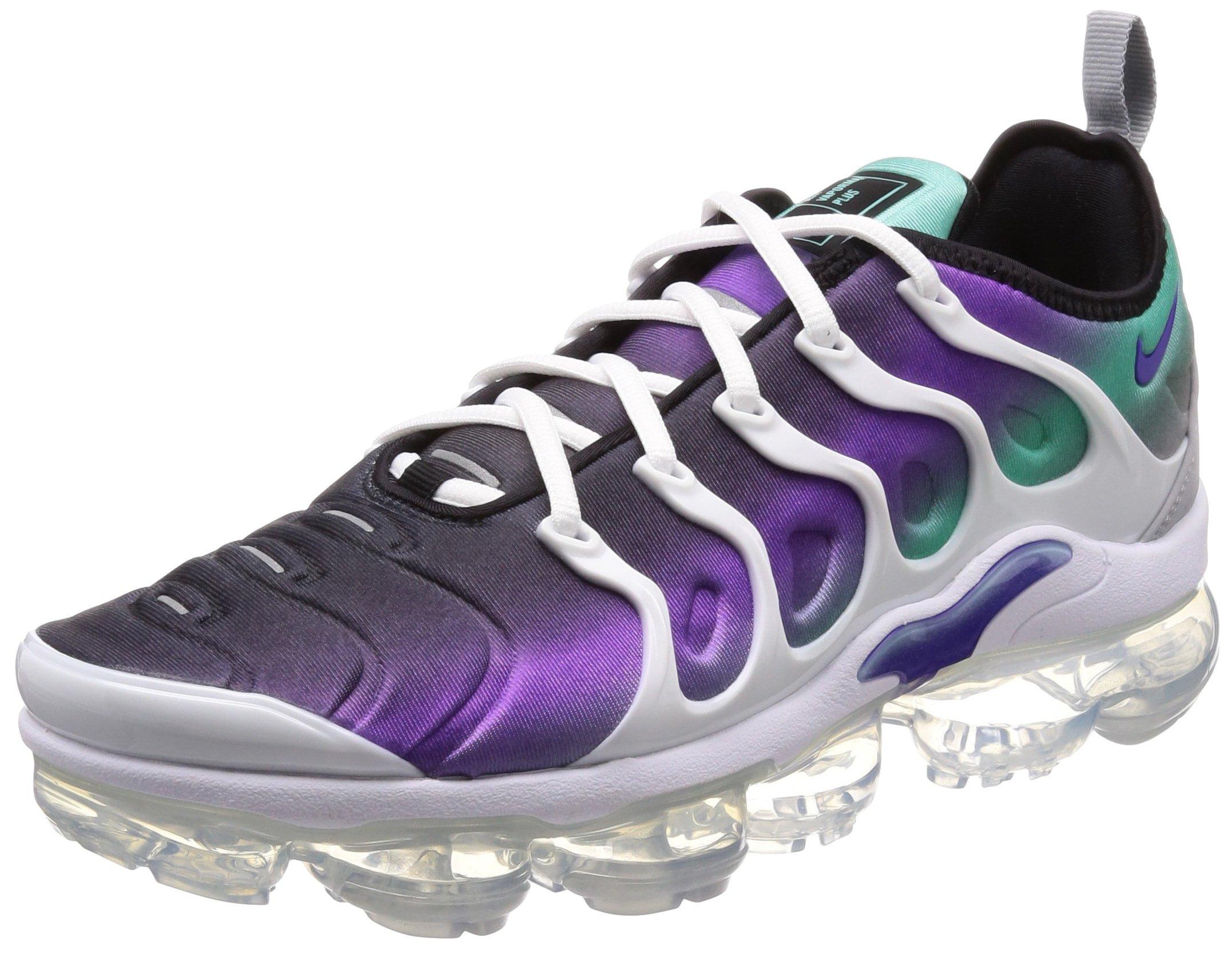huge selection of f8674 2be71 Nike Mens Air Vapormax Plus White/Purple Neoprene Size 10.5