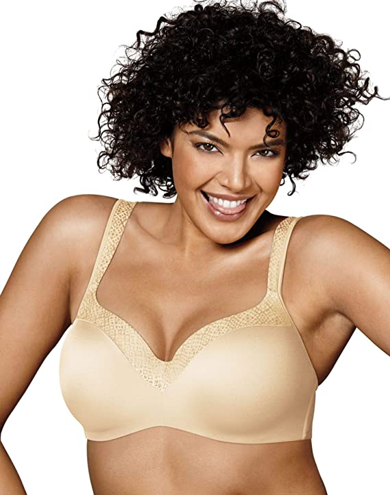 Playtex Love My Curves Original Balconette Underwire Full Coverage Bra