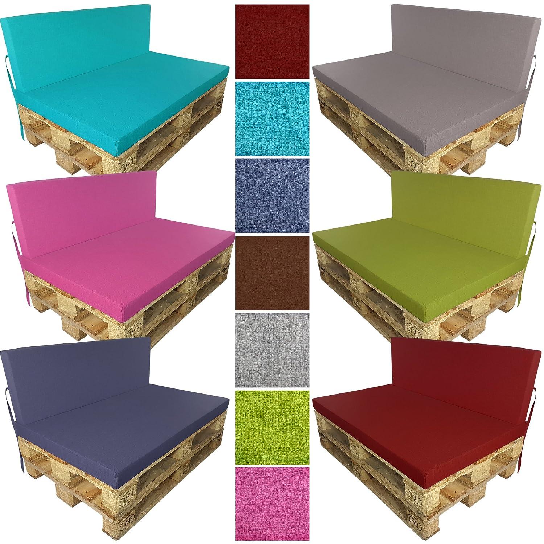 Belle coussin palette 120 80 id es de salon de jardin - Coussin pour palette europe ...