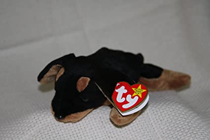 03f4aa7b38b Amazon.com  DOBY the Doberman - Ty Teenie Beanie Babies  Toys   Games
