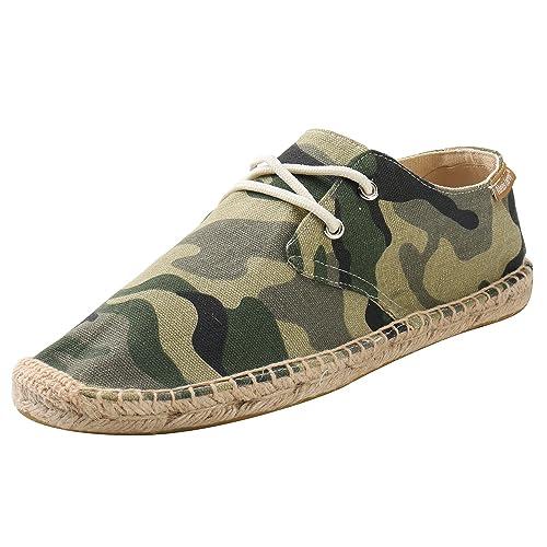 Alexis Leroy Camouflage Print, Alpargatas de Lona para Hombre: Amazon.es: Zapatos y complementos