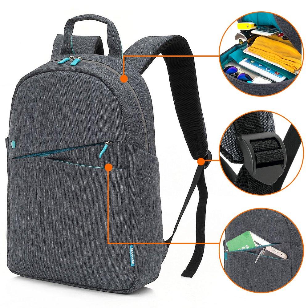 KINGLONG Laptop Backpack, Travel Business Computer School Bag College Bookbag Slim Backpack for Women Men
