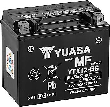 GEL Batterie YTX12-BS Yamaha TRX 850 4UN Bj 1996-1999