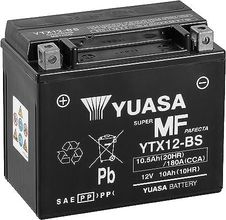 Yuasa Ytx12 Bs Wc Wartungsfreie Batterie Auto