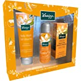 Kneipp Coffret Balade en Andalousie Fleur d'Oranger/Mandarine - Gel douche 200ml + Mousse douche 75ml + Huile bain 100 ml