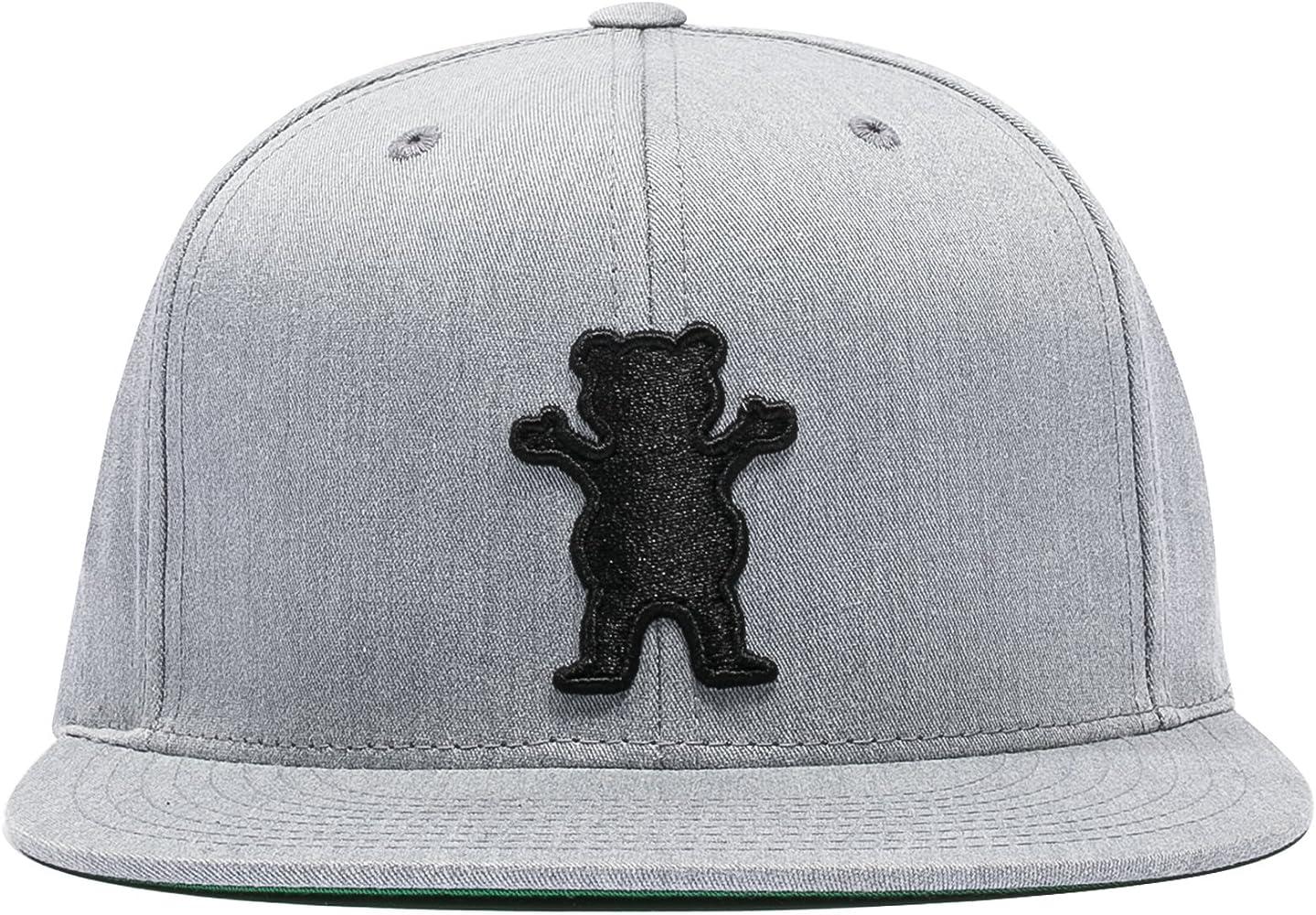 Grizzly Gorra OG Bear Snapback Heather GR: Amazon.es: Ropa y ...
