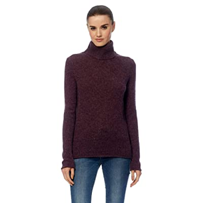 360 Cashmere Women's Rocky Barnes x 360 Meghan Turtleneck Sweater at Women's Clothing store
