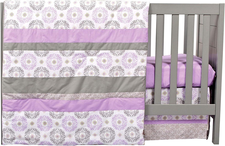 Trend Lab 3 Piece Florence Crib Bedding Set [並行輸入品]