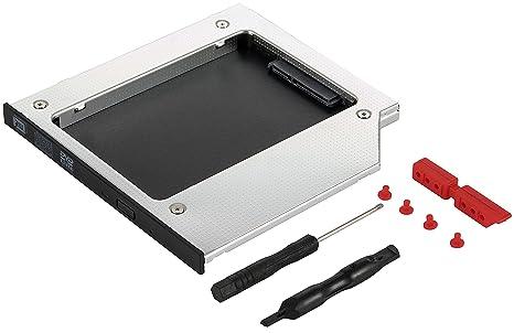 Bastidor Poppstar 1009506 para Disco Duro SSD/HDD en 9,5 mm, Ranura