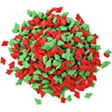 Dress My Cupcake DMC27285 Decorating Edible Cake and Cookie Confetti Sprinkles, Christmas Mini Red and Green Trees, 2.8-Ounce