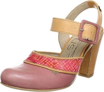 Virus Moda 920183 - Zapatos de tacón de Cuero para Mujer, Color Multicolor, Talla 37: Amazon.es: Zapatos y complementos
