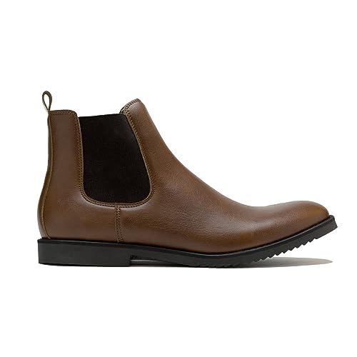 NAE Mesa - Botines Chelsea Veganos de Hombre: Amazon.es: Zapatos y complementos