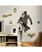 "RoomMates RMK3150GM Star Wars EP VII Storm Trooper P&S Giant Wall Decal, 22.26"" Wide x 44.39"" High"