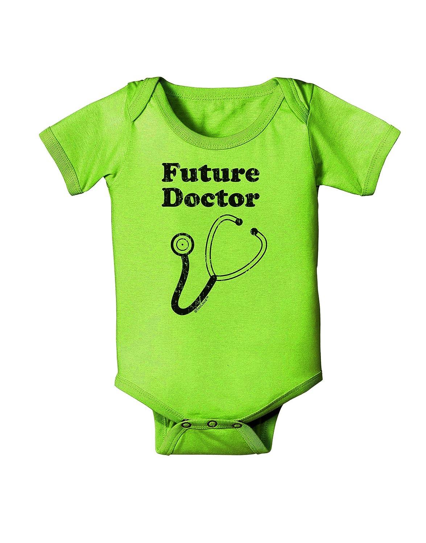 TooLoud Future Doctor Distressed Baby Romper Bodysuit
