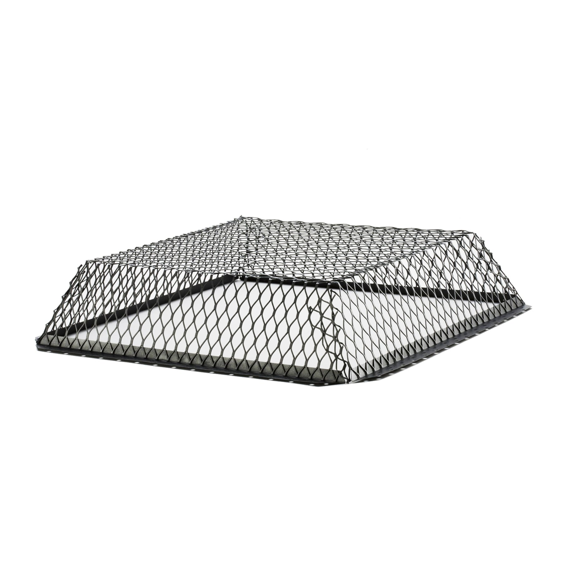 HY-C RVG2525LG Wildlife Exclusion Screen Galvanized Black Roof VentGuard, 25'' x 25'' x 6''