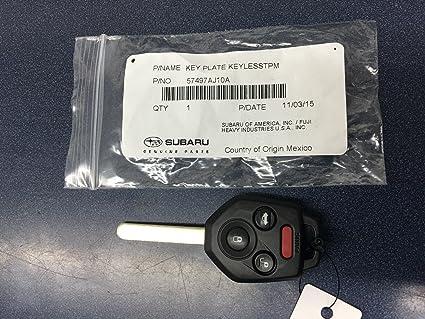 Subaru Replacement Key >> New Genuine Subaru Replacement Keyless Remote Key Fob 2010 2014 Legacy Outback