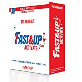 Fast&Up Activate - Arginine -1500 Mg Pre Workout Sports Drink - Pack Of 3 Tubes