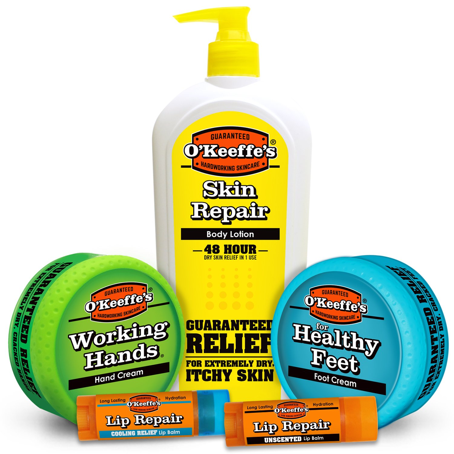 O'Keeffe's Hard Working Skin Care Variety Pack by O'Keeffe's