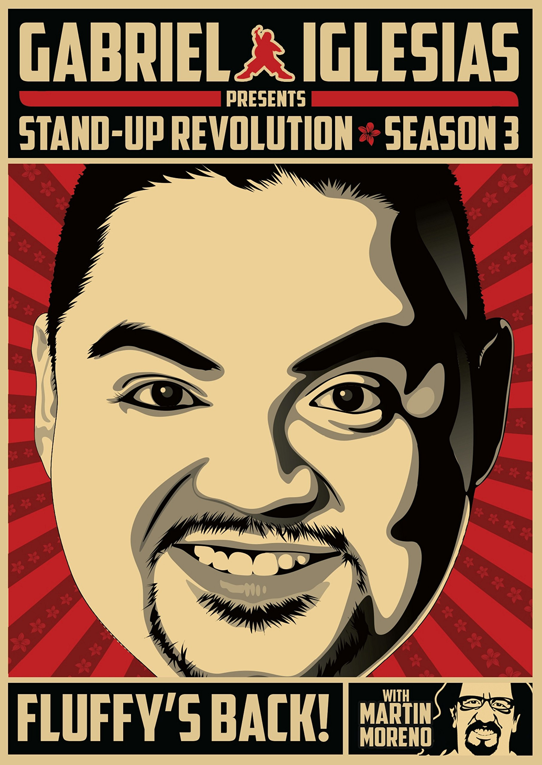 DVD : Gabriel Iglesias - Gabriel Iglesias Stand-up Revolution: Season Three (Widescreen, Subtitled, Dolby, Sensormatic)