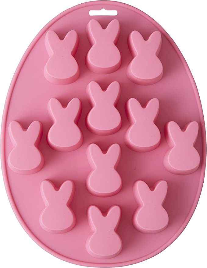Wilton Easter Bunny Shaped Silicone Treat Mold