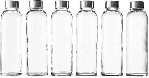 Amazon.com: Epica 15.98 oz. Botellas de vidrio para bebidas ...