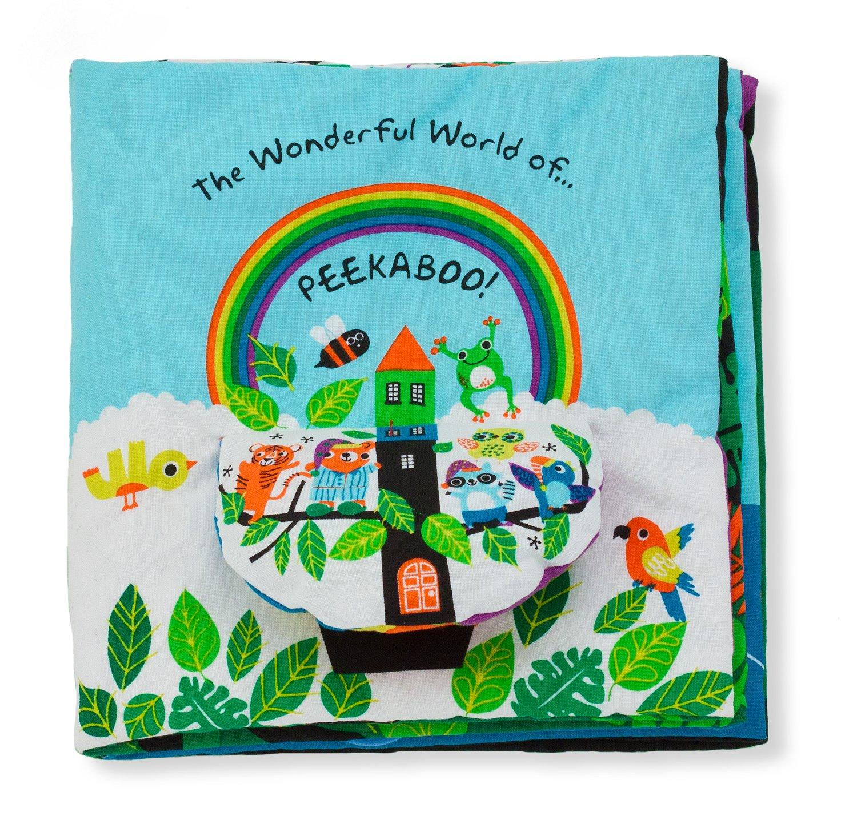 Melissa & Doug Soft Activity Baby Book - The Wonderful World of Peekaboo! 9208