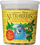 Lafeber Classic Nutri-Berries for Parakeets 12.5 oz Tub