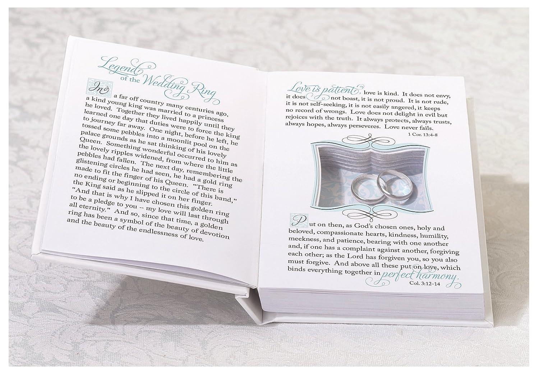 Amazoncom Lillian Rose Ring Pillow Alternative Book Box Wedding