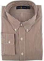 Ralph Lauren Mens Poplin Plaid Button-Down Shirt