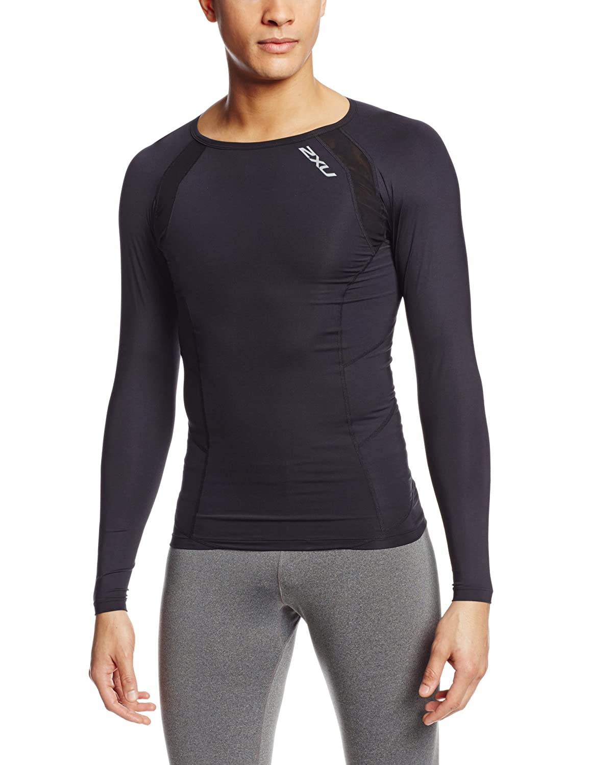 2XU Herren Shirt Long Sleeve Compression Top 2XU Pty Ltd MA1984a