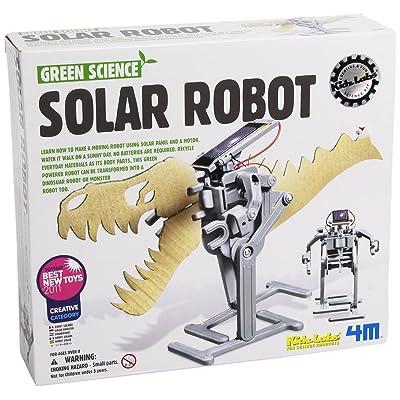 4M 68177 - Verde Ciencia Energía Solar - Robot Solar: Juguetes y juegos