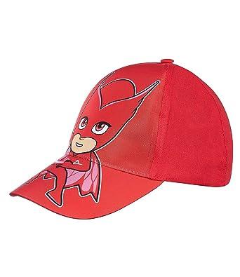 PJ Masks Chicas Gorra de béisbol - Rojo: Amazon.es: Ropa y accesorios