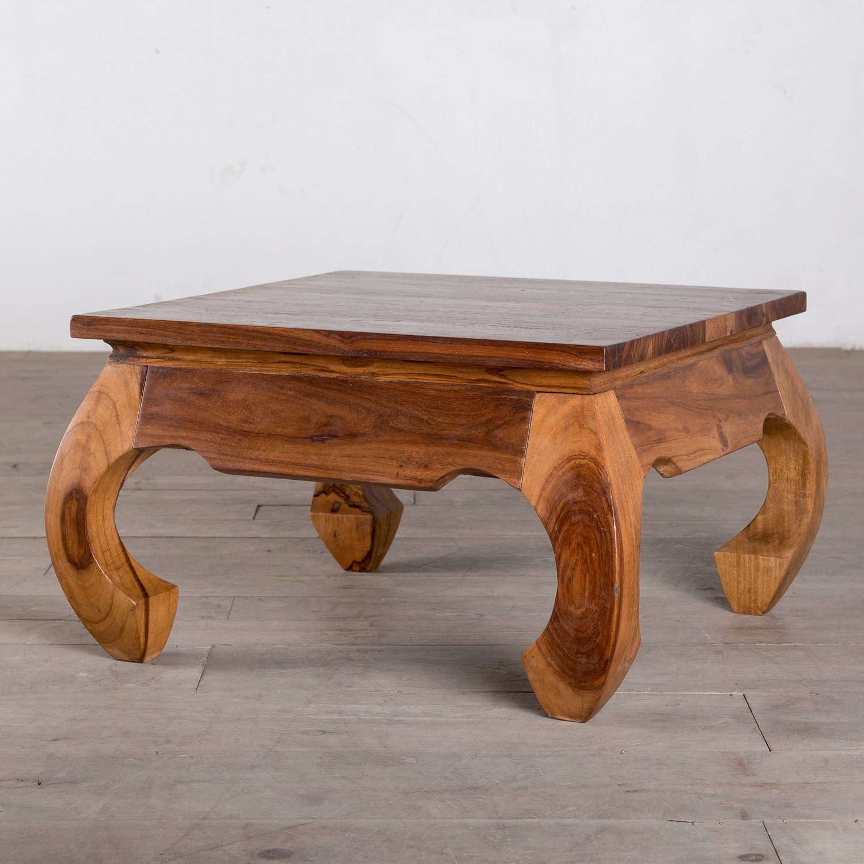 Arcana Handmade Opium Wood Square Coffee Table