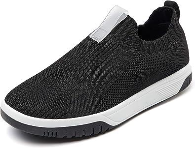 boys grey slip on shoes