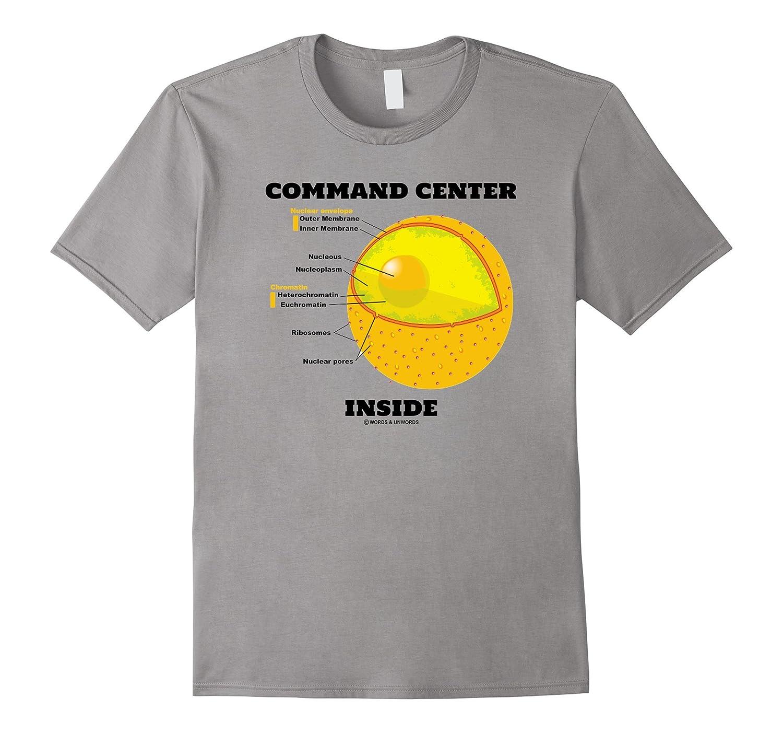 Command Center Inside Nucleus Cell Biology Geek Humor-TJ